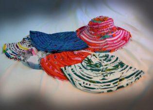 sombrero tela colores