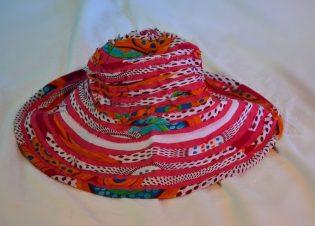 sombreros tela colores