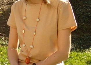 Camiseta cuello redondo manga corta 2