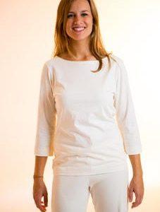 Camiseta Cuello Barco Manga 3/4 – 30% Dto