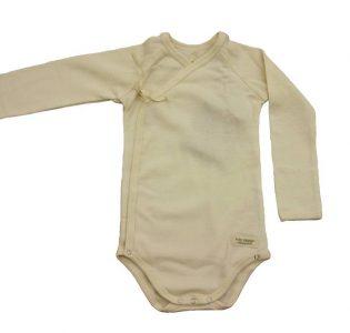 body cruzado manga larga para bebe