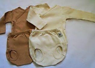 camiseta y ranita conjunto bebe