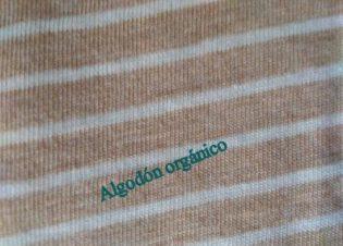 punto liso rayas marron crudo 9007 bauldealgodon 2
