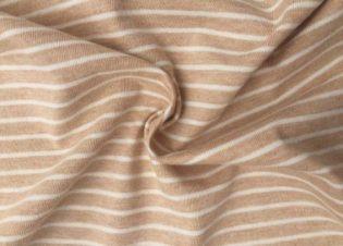 punto liso rayas marron crudo 9007 bauldealgodon