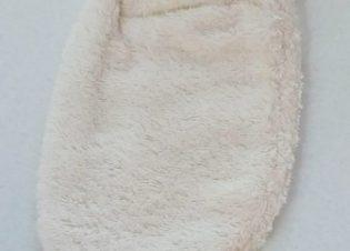 Manopla baño algodon organico