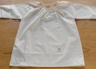 bata infantil guarderia baulde algodon