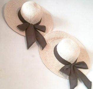 Sombrero Palma Lazo Marron