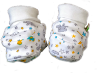 Botines Bebe Pepito – Doble Punto – 0 – 4 Meses