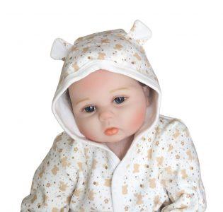 Chaqueta Con Capucha Para Bebe